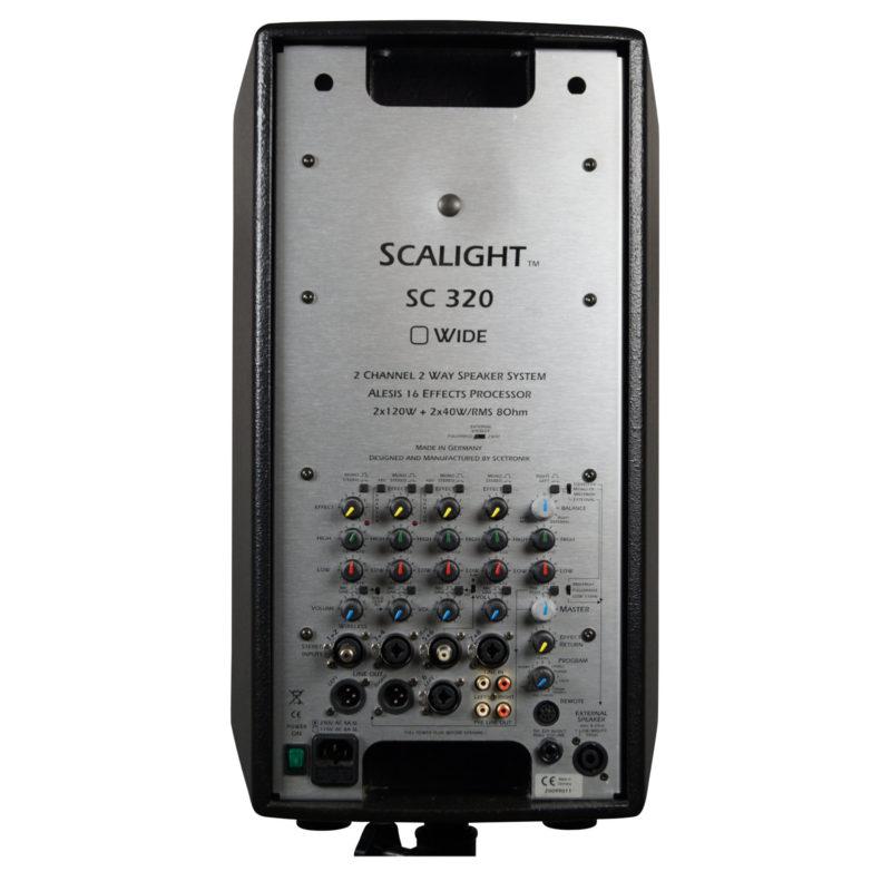 SC320, 4-Kanal, Stereo